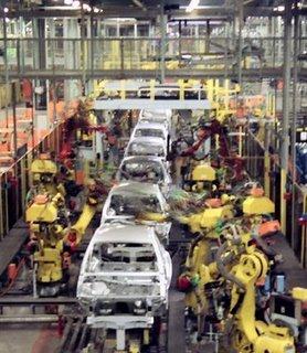 Car factory line