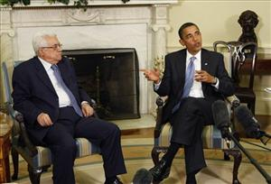 www.newser.com_President Barack Obama, right, meets with Palestinian..._288771-6-20090831115222