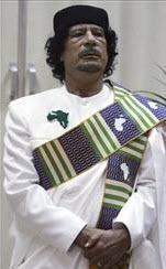 Gadhafi Libya Leader