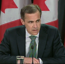 www.cbc.ca_Bank of Canada governor Mark Carney said Canada is on track for an economic recovery._mark-carney-cbc090423